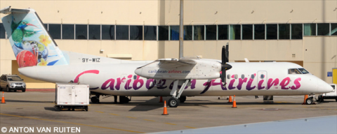 Caribbean Airlines DeHavilland Dash 8-300 Decal