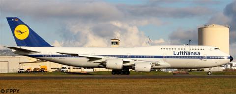 Lufthansa Boeing 747-8 Decal