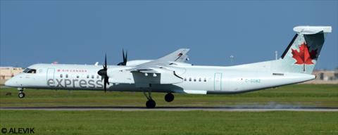 Air Canada Express, Air Canada Jazz -Bombardier Dash 8-Q400 Decal