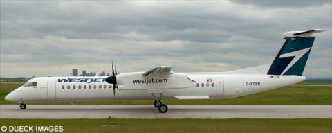 Westjet Encore -Bombardier Dash 8-Q400 Decal