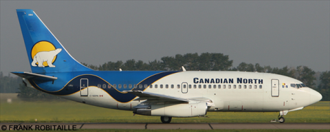 Canadian Airlines, Canadian North --Boeing 737-200 Decal