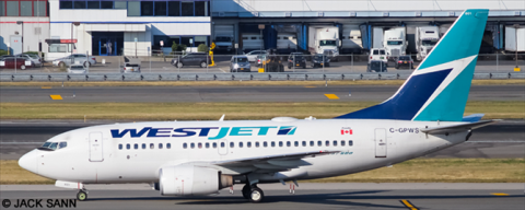Westjet --Boeing -737-600 Decal
