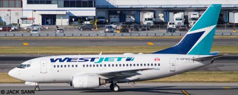 Westjet --Boeing -737-600 Decal