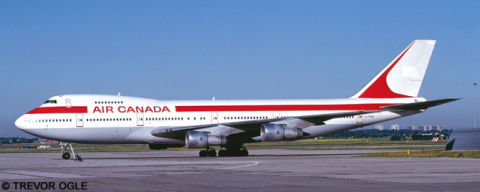 Air Canada, Global International Airways -Boeing 747-100 Decal