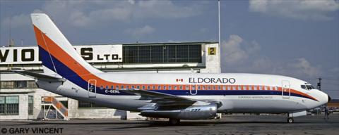 Eldorado Aviation Ltd. --Boeing 737-200 Decal