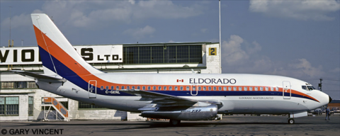 Eldorado Aviation Ltd. --Boeing 737-200 Decal