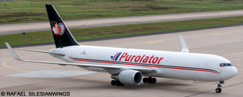Cargojet, Purolator -Boeing 767-300 Decal