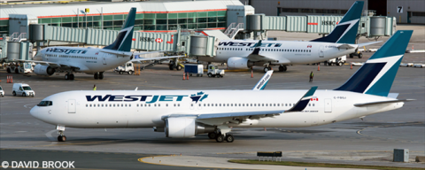 Westjet -Boeing 767-300 Decal