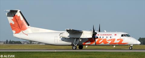 Air Canada Jazz -DeHavilland Dash 8-300 Decal
