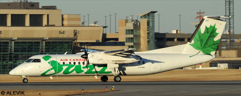 Air Canada Jazz -DeHavilland Dash 8-300 Decal