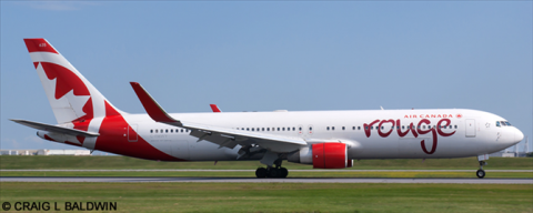 Air Canada Rouge -Boeing 767-300 Decal