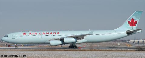 Air Canada -Airbus A340-300 Decal