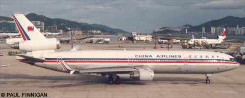 China Airlines McDonnell Douglas MD-11 Decal