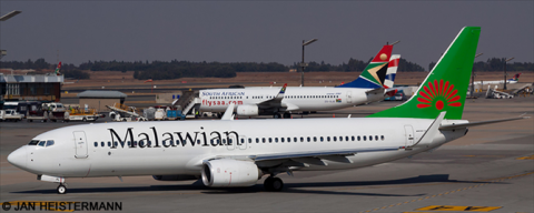 Malawian Airlines Boeing 737-800 Decal