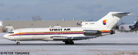 First Air Boeing 727 --Boeing 727-100 Decal