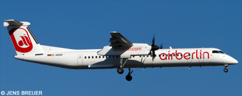 Air Berlin Bombardier Dash 8-Q400 Decal