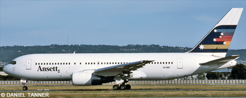 Ansett New Zealand -Boeing 767-200 Decal
