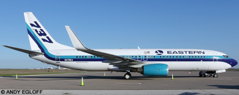 Eastern Airlines -Boeing 737-800 Decal