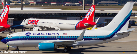 Eastern Airlines -Boeing 737-700 Decal