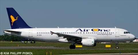 Air One Airbus A320 Decal