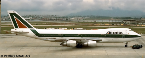 Alitalia -Boeing 747-200 Decal