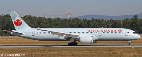 Air Canada -Boeing 787-9 Decal