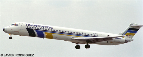 Transwede McDonnell Douglas MD-80 Decal