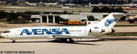 Avensa -Boeing 727-200 Decal