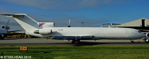 Kelowna Flightcraft -Boeing 727-200 Decal