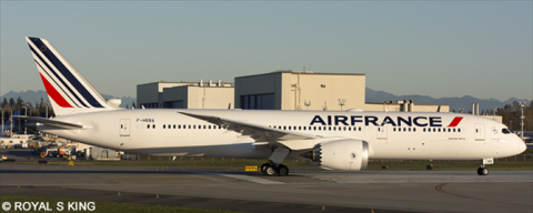 Air France -Boeing 787-9 Decal