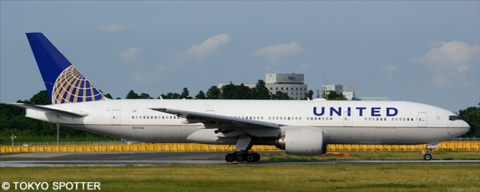 United Airlines -Boeing 777-200 Decal
