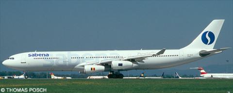 Sabena -Airbus A340-300 Decal