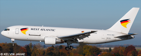 West Atlantic -Boeing 767-200 Decal