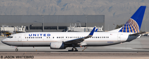 United Airlines -Boeing 737-800 Decal