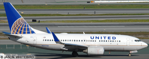 United Airlines -Boeing 737-700 Decal