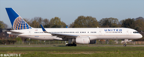 United Airlines -Boeing 757-200 Decal