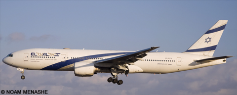 EL AL Israel Airlines -Boeing 777-200 Decal