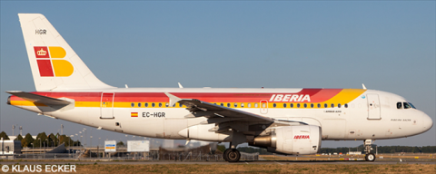 Iberia Airbus A319 Decal