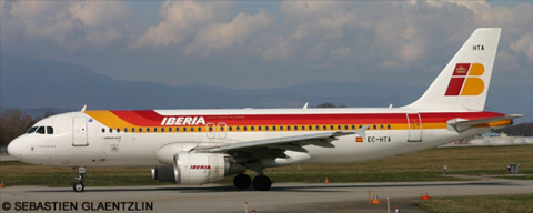 Iberia Airbus A320 Decal