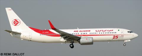 Air Algerie -Boeing 737-800 Decal