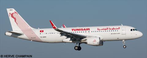 Tunisair Airbus A320 Decal