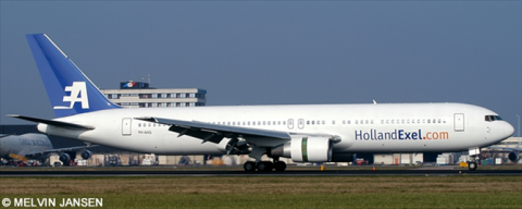 Holland Exel -Boeing 767-300 Decal