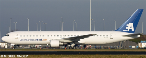 Dutch Caribbean Exel -Boeing 767-300 Decal
