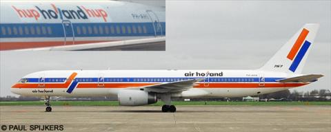 Air Holland -Boeing 757-200 Decal