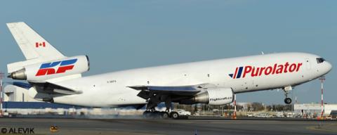 Purolator, Kelowna Flightcraft McDonnell Douglas DC-10 Decal