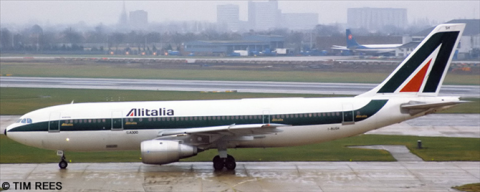 Alitalia -Airbus A300B4 Decal