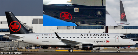 Air Canada Express -Embraer E175 Decal