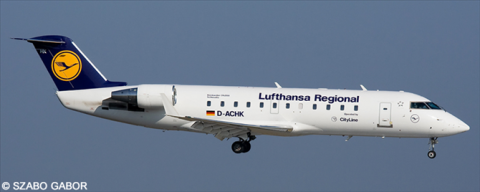 Lufthansa Regional --Bombardier CRJ 100/200 Decal