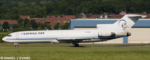 Express Net Airlines -Boeing 727-200 Decal
