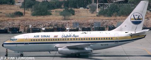 Air Sinai -Boeing 737-200 Decal